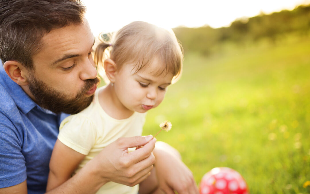 Why my girl seems to love daddy more than me?